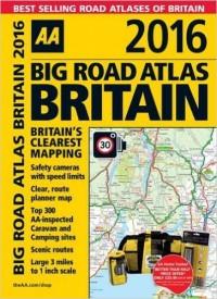 בריטניה אטלס הדרכים הגדול 2016 - ספירלי