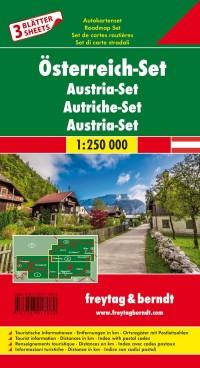 אוסטריה סט 3 מפות