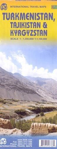 טורקמניסטן, טג'יקיסטן וקירגיזסטן