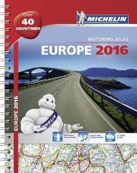 אטלס אירופה 1136 אטלס 2016 ספירלי A4