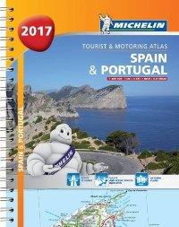 ספרד ופורטוגל 1460 2017 אטלס ספירלי A4
