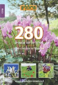 280 מסלולי פריחה צבעוניים – כרך מרכז