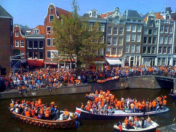 יום המלך באמסטרדם
