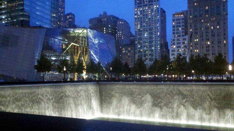 הבריכה הצפונית של האנדרטה להנצחת אירועי 9/11