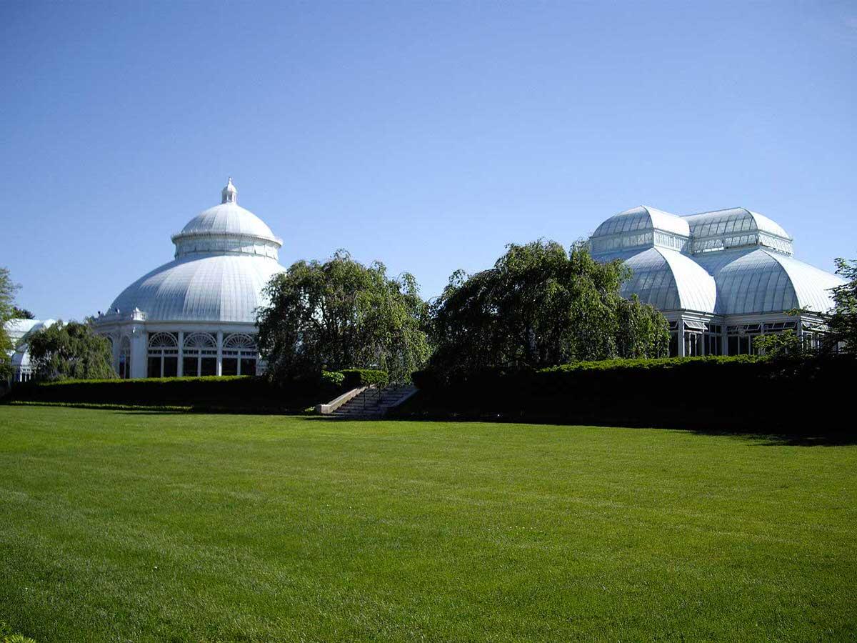 מבנה החממה משנות התשעים של המאה התשע-עשרה