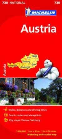 מפת אוסטריה, מישלן