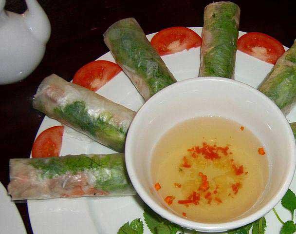 רול קיצי - מאכל אופייני למטבח הווייטנאמי
