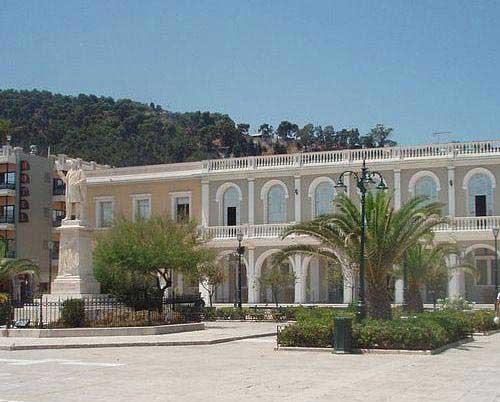 המוזיאון הביזנטי בעיירה זאקינתוֹס