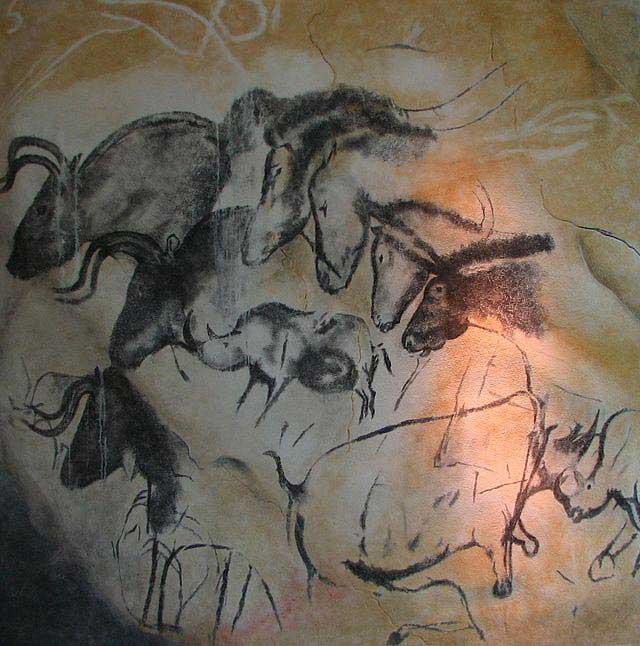 שחזור של ציורים ממערת שוֹבֶה