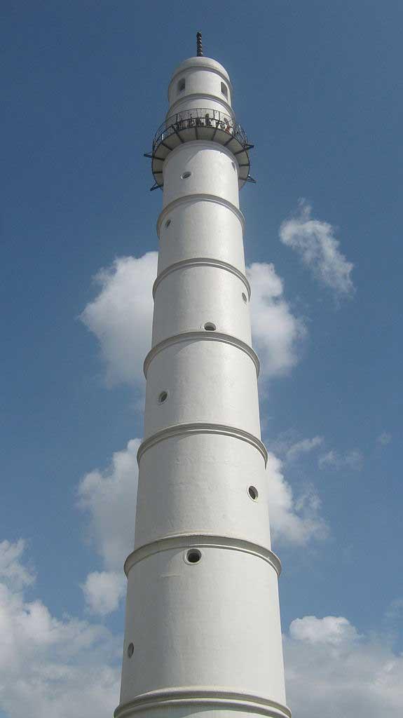 מגדל דרהרה בקטמנדו לפני ההתמוטטות