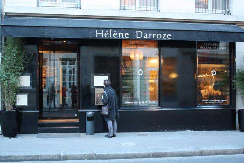 המסעדה של דארוז בפאריז