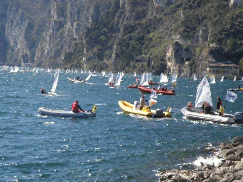 תחרות שיט מפרשיות לחופי ריבה דל גארדה