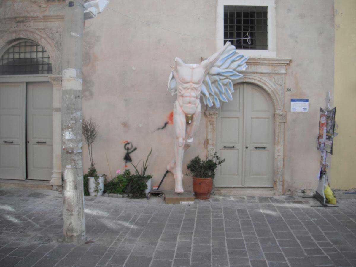 פסל רחוב ברתימנו