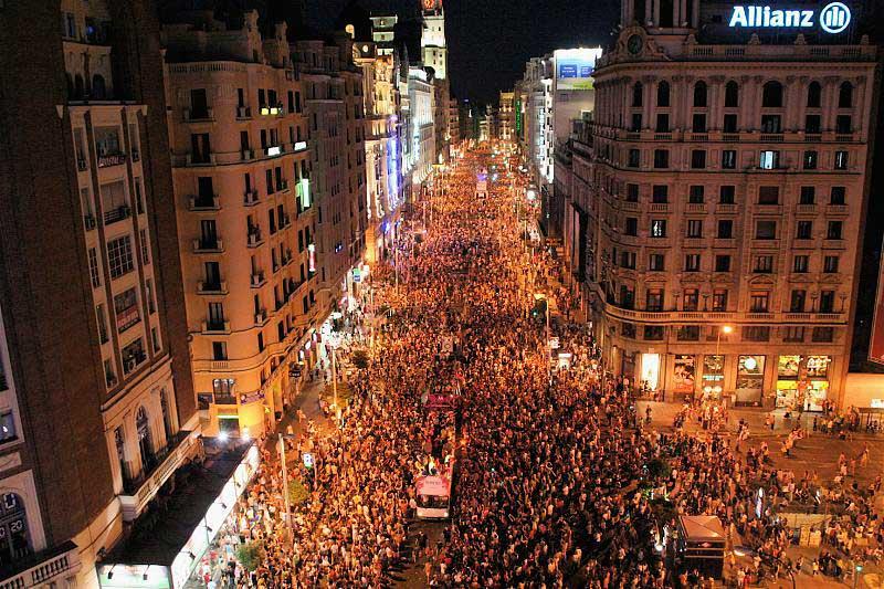 גראן ויה במצעד הגאווה שבמדריד