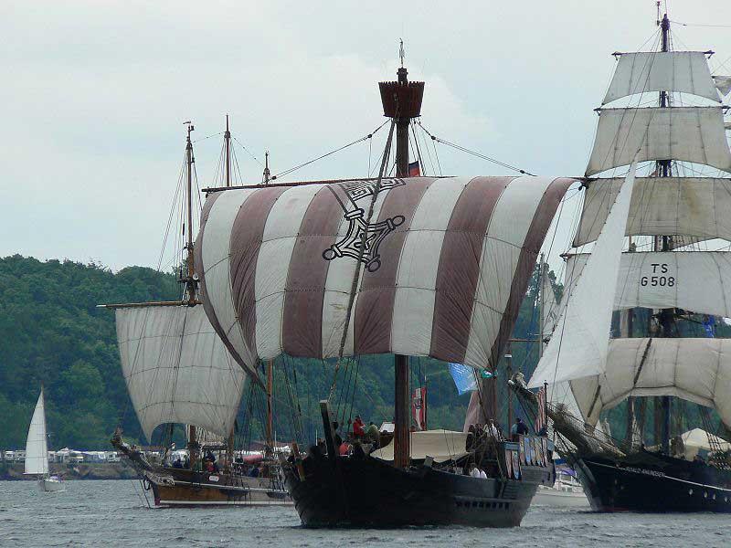 ספינות מפרש מסורתיות במשט וינדיאמֶרפּאראד