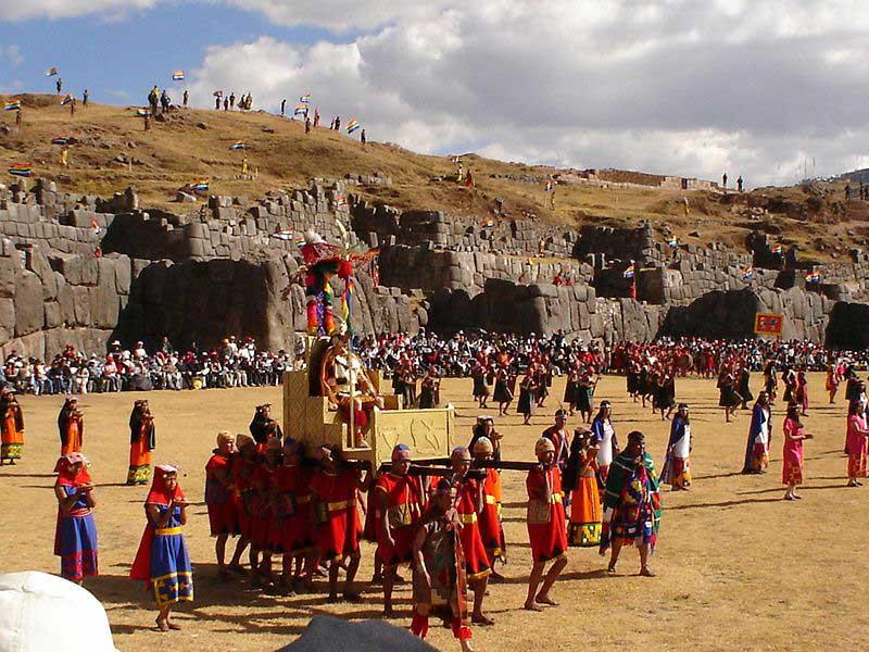 שחזור הטקסים העתיקים בחגיגות אינטי ראיימי