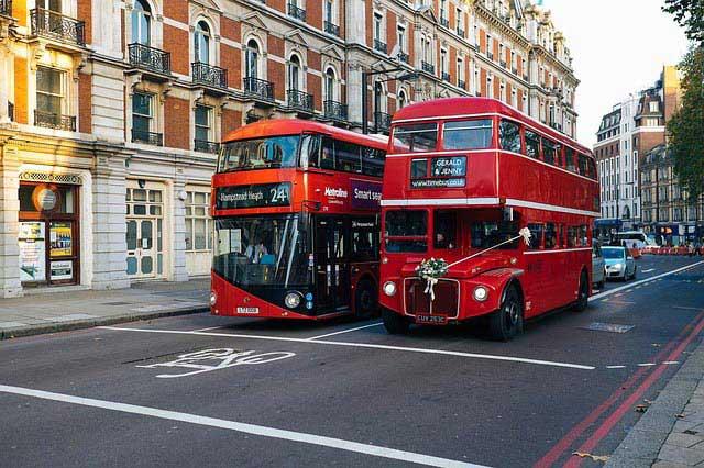 מעבר חציה לאופניים ברחובות לונדון