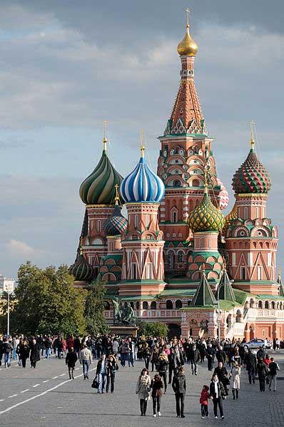 קתדרלת ואסילי הקדוש, מוסקבה, רוסיה