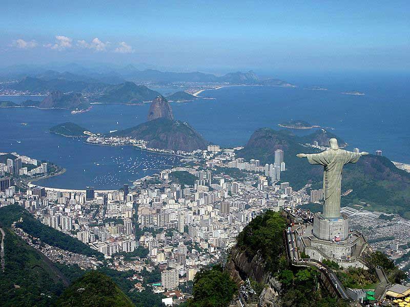 נוף מרהיב של ריו דה ז