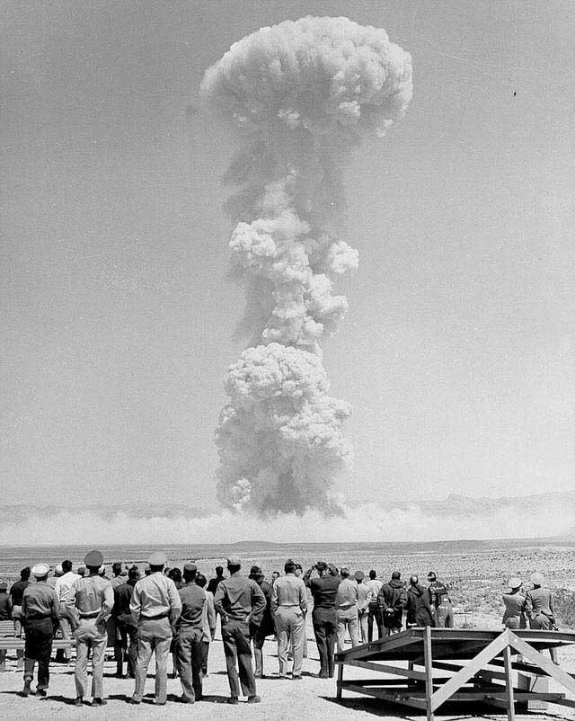 ניסוי גרעיני במסגרת Operation Teapot, אפריל 1955