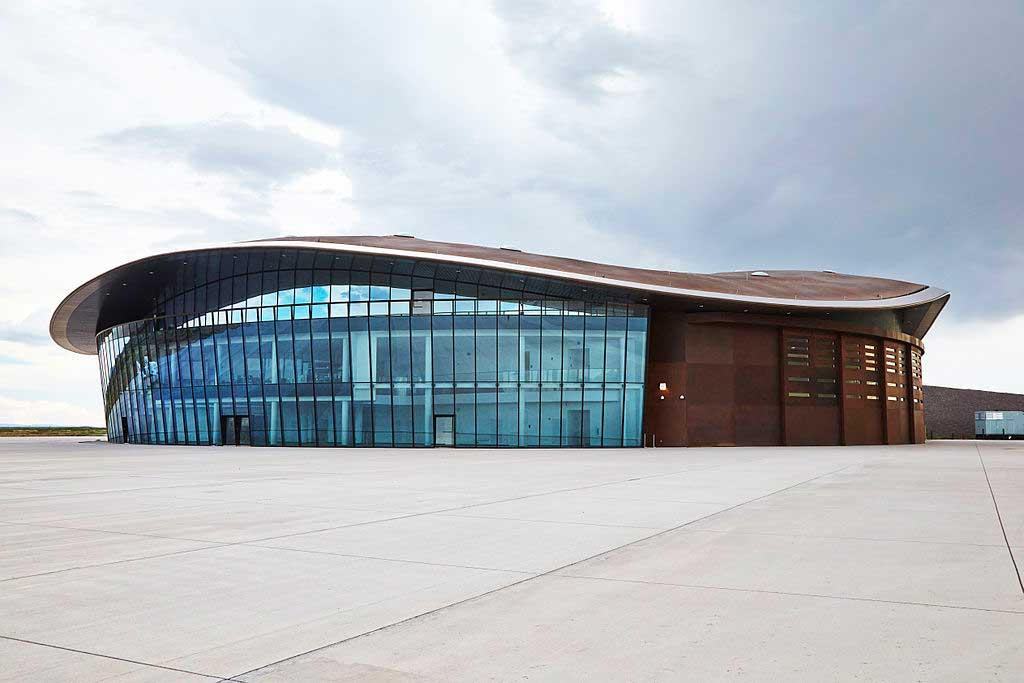 הטרמינל המתהדר באדריכלות ייחודית