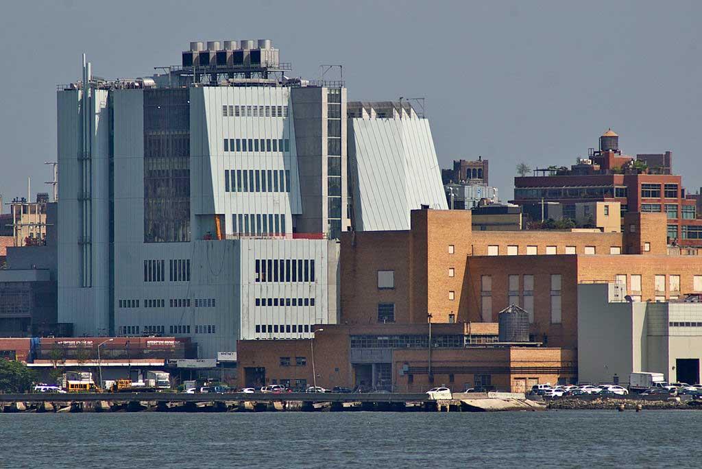 חזית המבנה החדש של מוזיאון וויטני