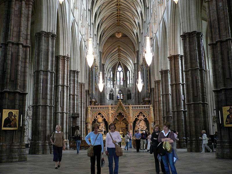 אולם התווך של כנסיית ווסטמינסטר