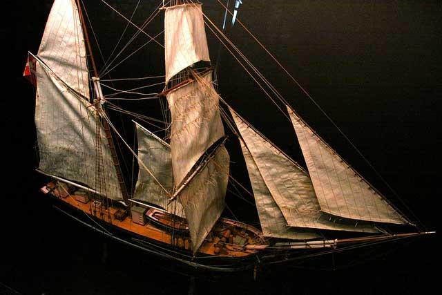 מתוך התצוגה של המוזיאון הימי