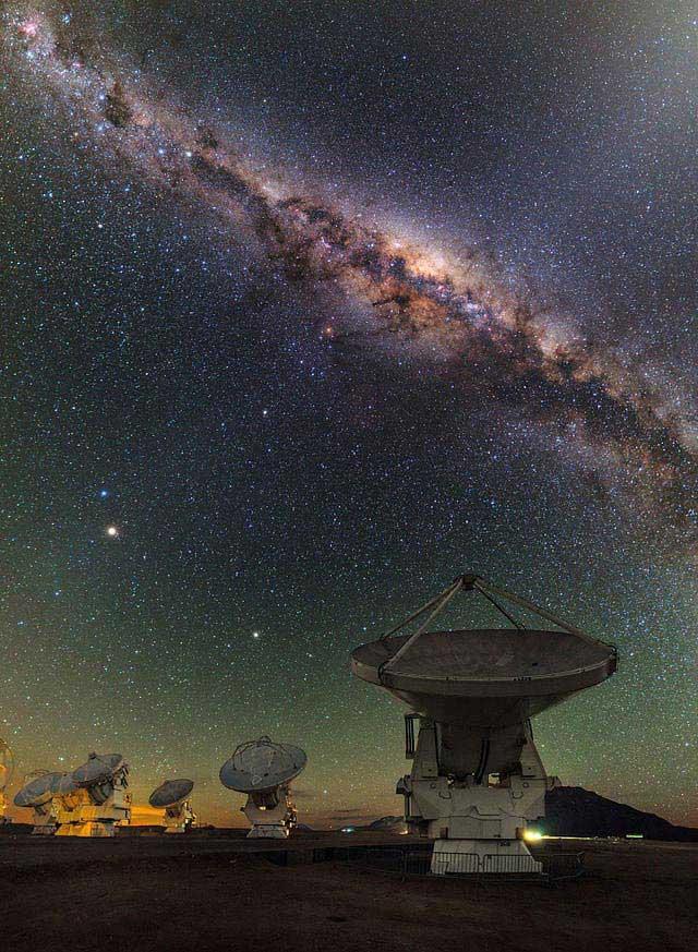 מצפה הכוכבים אלמה במדבר אטקמה שבצ
