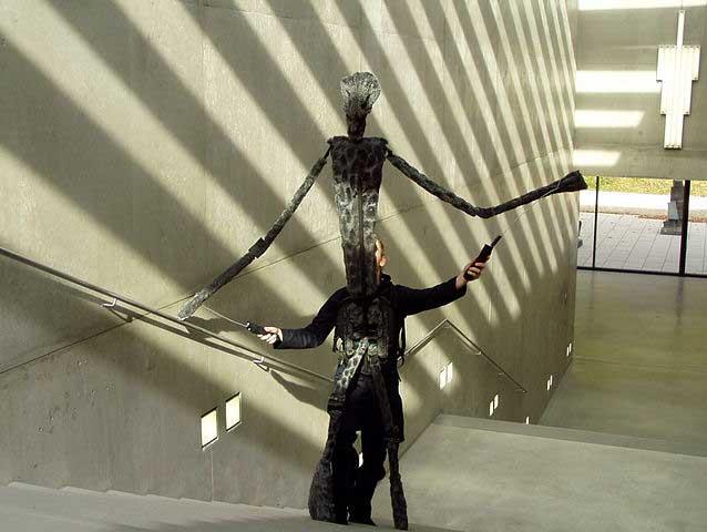 יצירה במוזיאון לאמנות מודרנית בזלצבורג