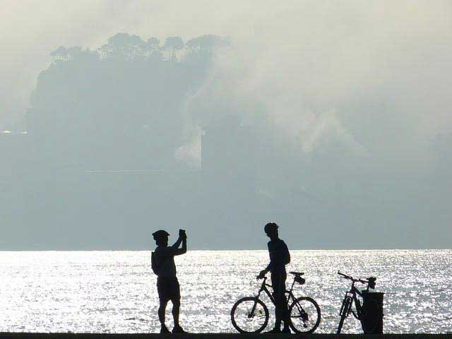 רכיבה על אופניים לאורך החוף הצפוני של פורטוגל