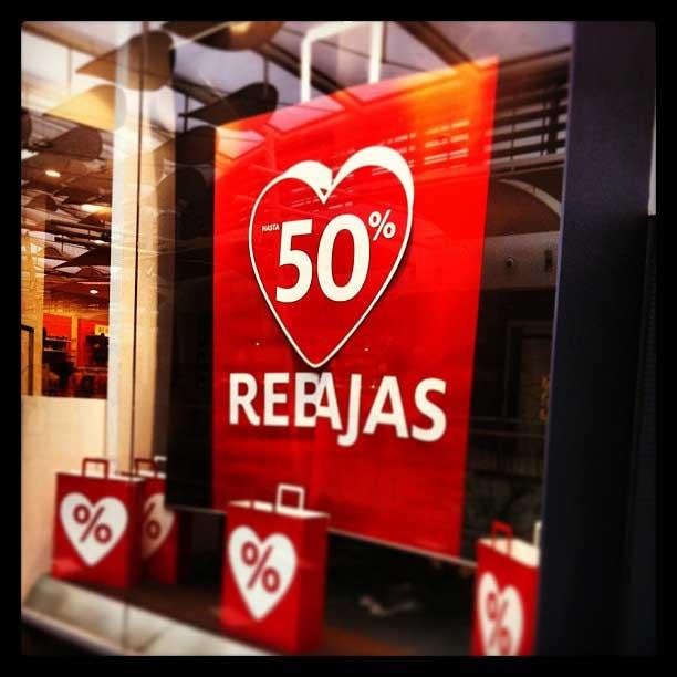 רֶבּאחאס - Rebajas בחנות בברצלונה