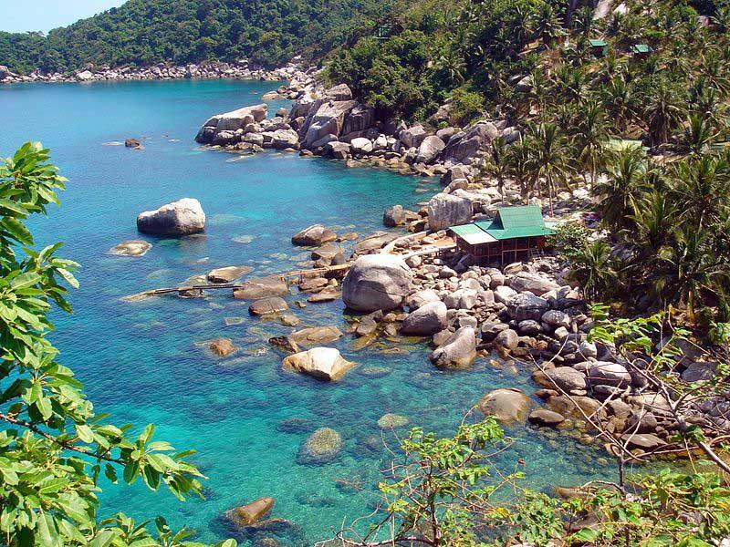 מפרץ המנגו באי קוֹ טָאוּ