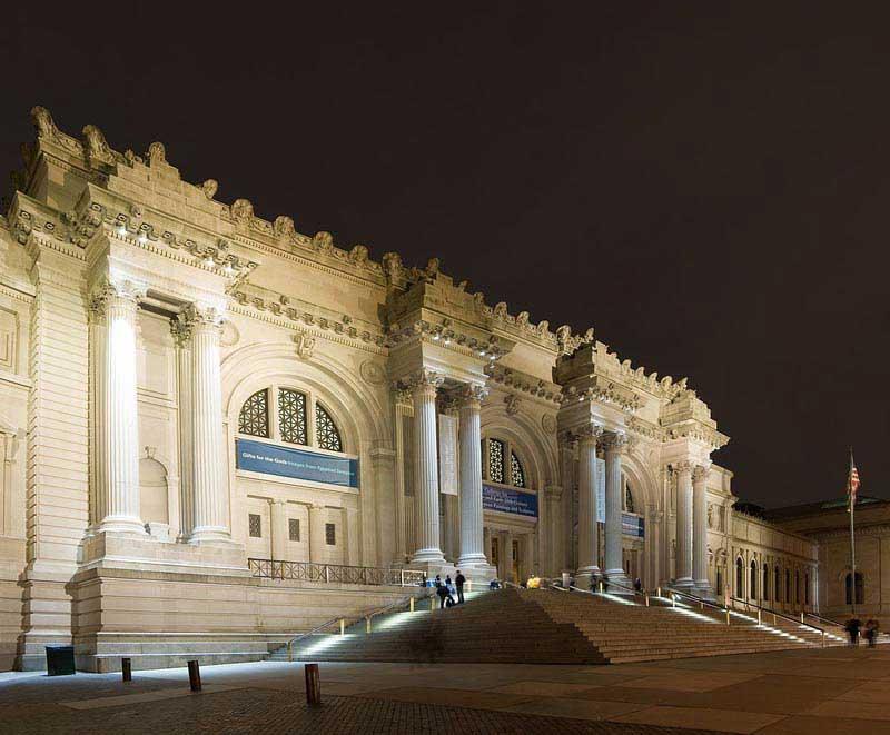 חזית מוזיאון מטרופוליטן