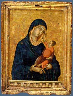 המדונה והתינוק מאת דוצ