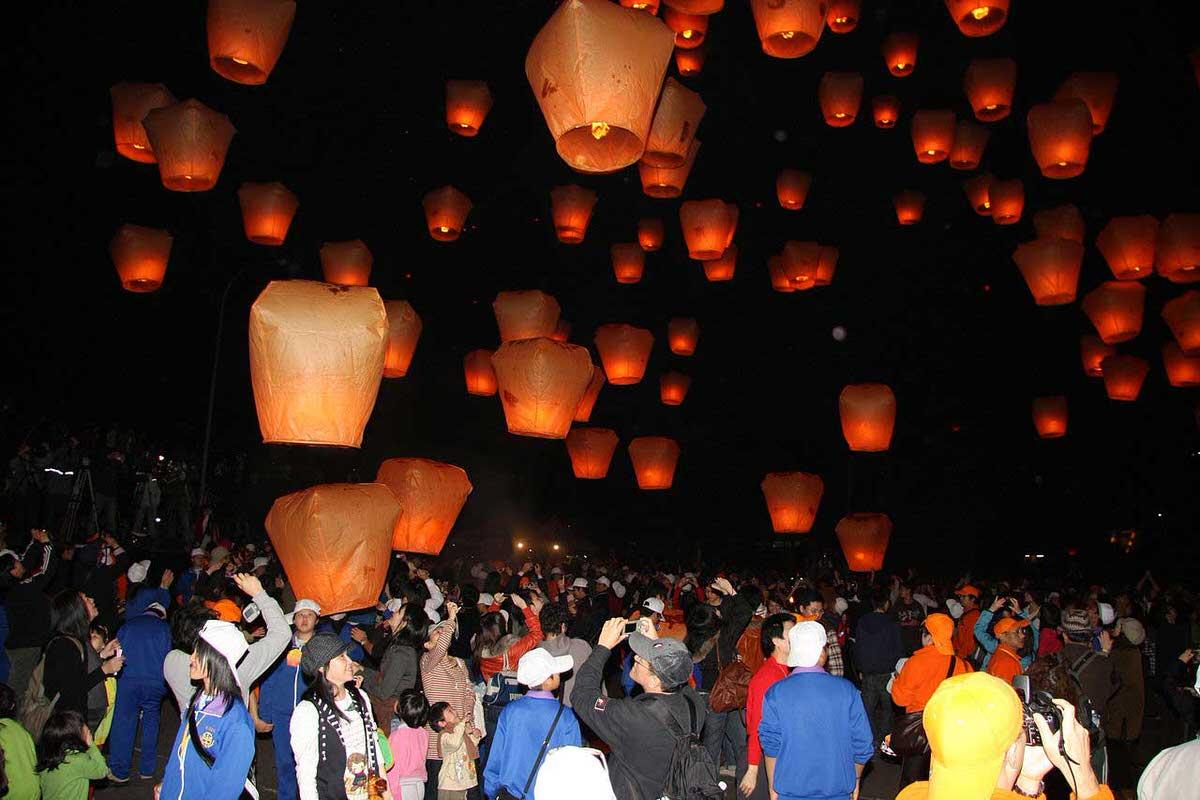 פסטיבל הפנסים בפּינגש