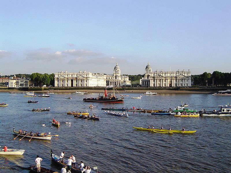 מרוצי סירות בנהר תמז