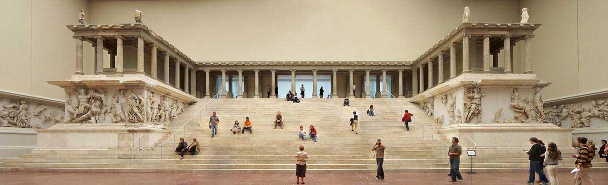 המזבח במוזיאון הפרגאמון