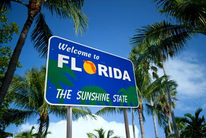 פלורידה מדינה שטופת שמש