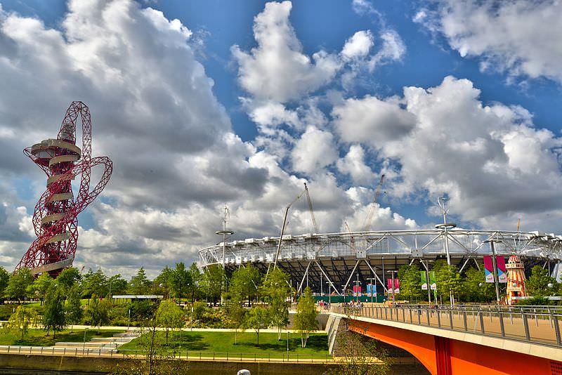 מגדל ארסלורמיטאל אורביט בפארק האולימפי של לונדון