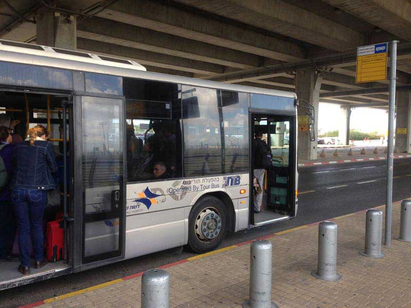 האוטובוס (שאטל) לטרמינל 1