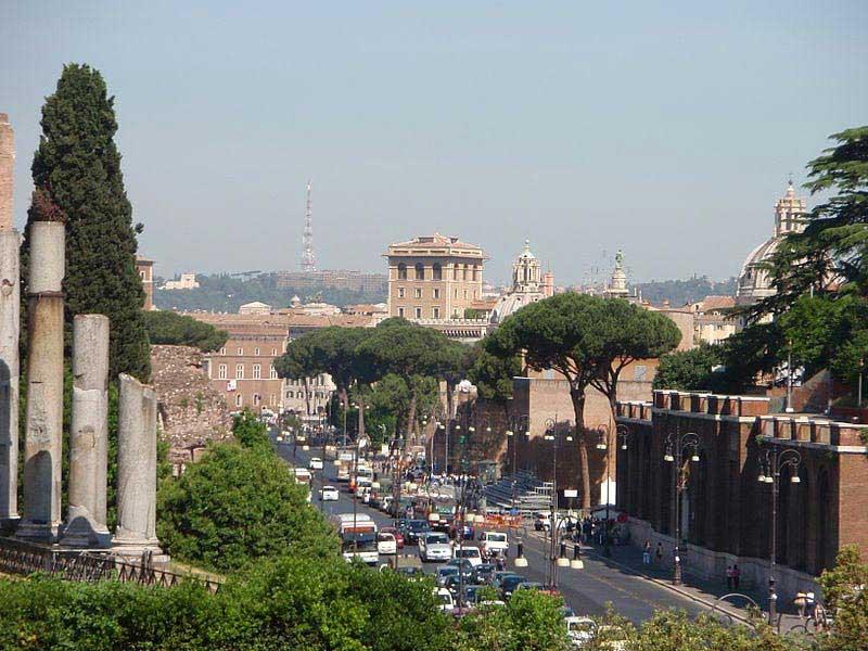 ויה דיי פורי אימפריאלי ברומא