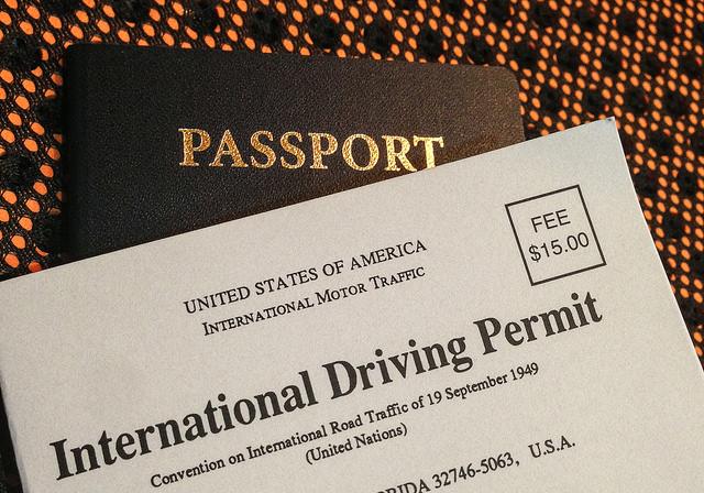 רשיון נהיגה בינלאומי. בלעדיו אין כיסוי לפוליסת ביטוח הבריאות