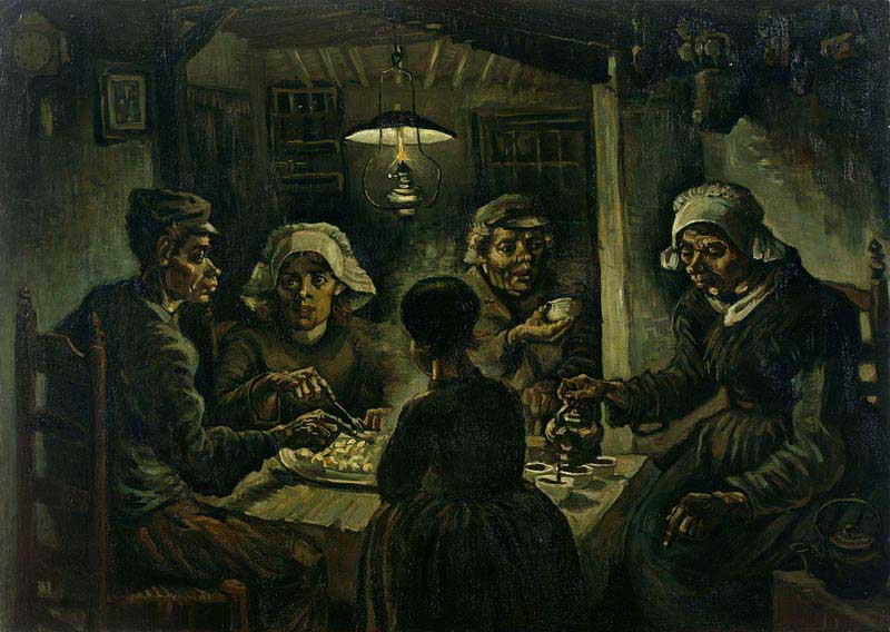 אוכלי הבולבוסים, 1885