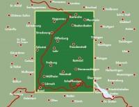 מפת היער השחור (גרמניה)+טופ 10 טיפס פרייטג ברנדט (ישן)  - עטיפה אחורית
