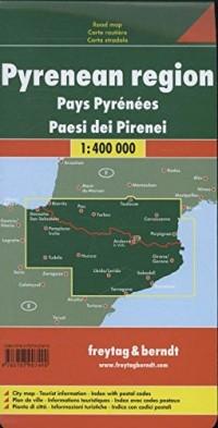מפת הפירינאים פרייטג ברנדט  - עטיפה אחורית