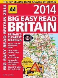 מפת בריטניה אטלס הדרכים הגדול 2014 AA (ישן)