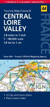 מפה AA צרפת 180 (8) עמק הלואר מזרח