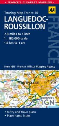 מפה AA צרפת 180 (10) לאנגדוק-רוסיון