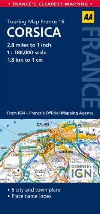 מפה AA צרפת 180 (16) קורסיקה